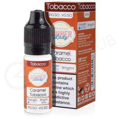 Caramel Tobacco E-Liquid by Dinner Lady 50/50