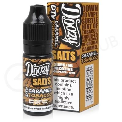 Caramel Tobacco Nic Salt E-liquid by Doozy Salts