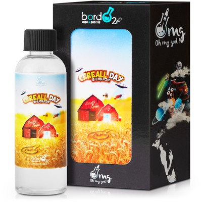 Cereall Day eLiquid by BordO2 OMG 100ml