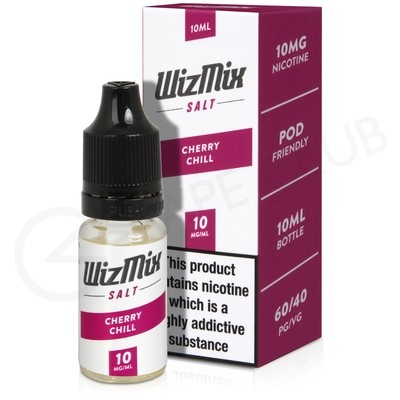 Cherry Chill Nic Salt eLiquid by Wizmix