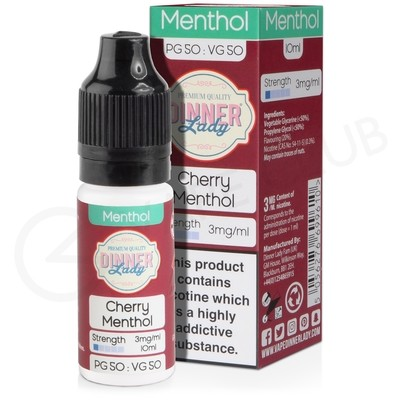 Cherry Menthol E-Liquid by Dinner Lady 50/50