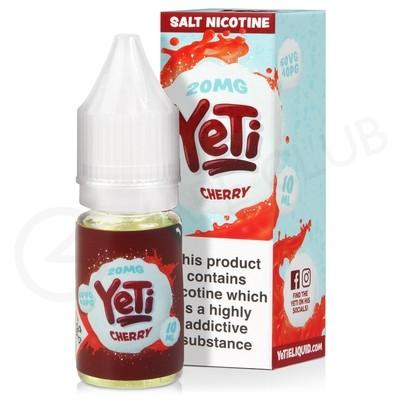 Cherry Nic Salt E-Liquid by Yeti