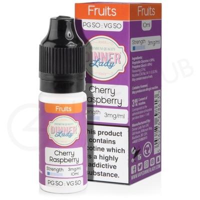 Cherry Raspberry E-Liquid by Dinner Lady 50/50