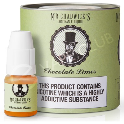 Chocolate Limes eLiquid by Mr Chadwick's