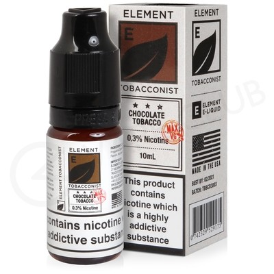 Chocolate Tobacco High VG E-Liquid by Element Tobacconist