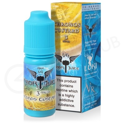 Chronos Custard High VG E-Liquid by Thor Juice