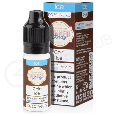 Cola Ice E-Liquid by Dinner Lady 70/30
