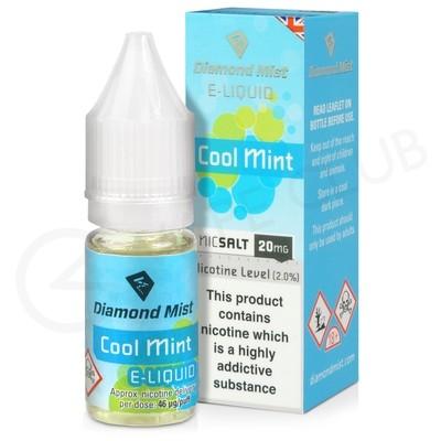 Cool Mint Nic Salt E-Liquid by Diamond Mist