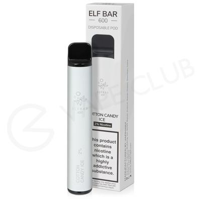 Cotton Candy Ice Elf Bar Disposable Vape