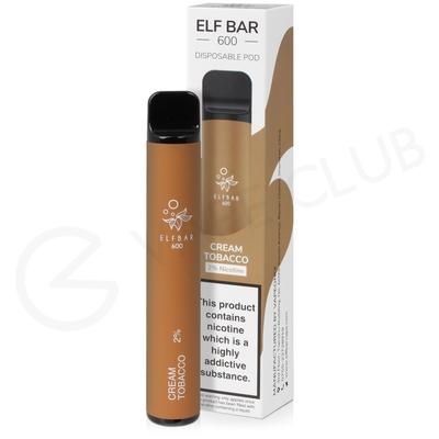 Cream Tobacco Elf Disposable Device