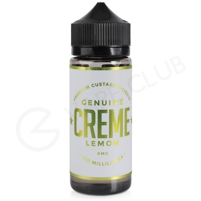 Creme Lemon eLiquid by Genuine Creme 100ml