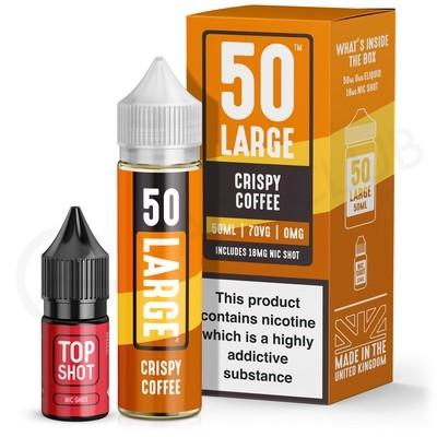 Crispy Coffee Shortfill E-Liquid by 50 Large 50ml