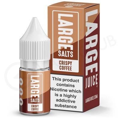 Crispy Coffee Nic Salt E-Liquid by Large Juice