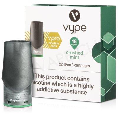 Crushed Mint ePen 3 Nic Salt Prefilled Vape Pod by Vype