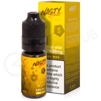Cush Man Nic Salt E-liquid by Nasty Salts