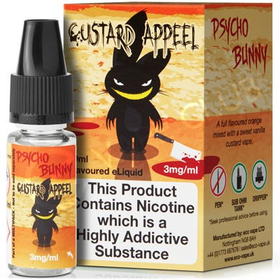 Custard Appeal eLiquid by Psycho Bunny