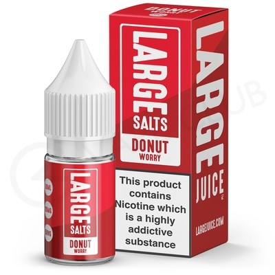 Donut Worry Nic Salt E-Liquid by Large Juice