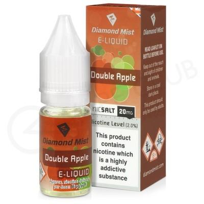 Double Apple Nic Salt E-Liquid by Diamond Mist