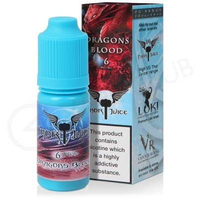 Dragons Blood eLiquid by Thor Juice