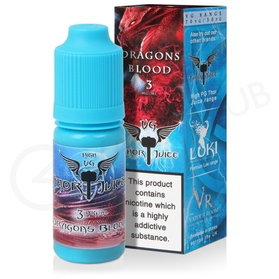 Dragons Blood High VG eLiquid by Thor Juice