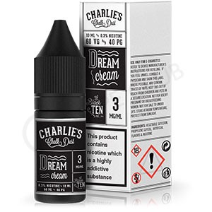 Dream Cream E-Liquid by Charlie's Chalk Dust