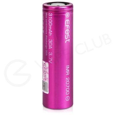 Efest 20700 Rechargeable Vape Battery (3100mAh 30A)