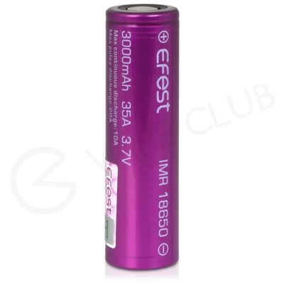 Efest IMR 18650 Rechargeable Vape Battery (3000mah 35A)