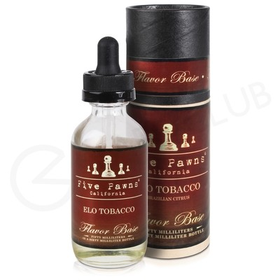 Elo Tobacco Shortfill E-Liquid by Five Pawns Tobacco 50ml
