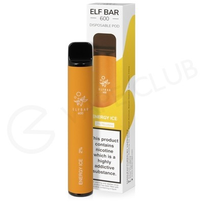 Energy Ice Elf Bar Disposable Vape