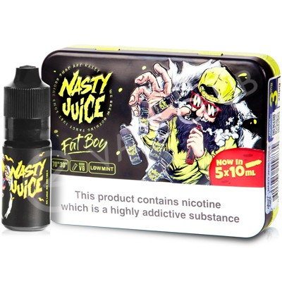 Fat Boy eLiquid by Nasty Juice