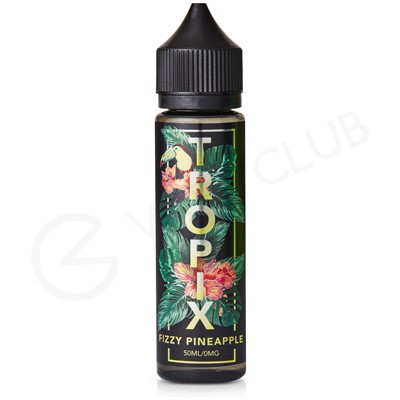 Fizzy Pineapple eLiquid by Tropix 50ml