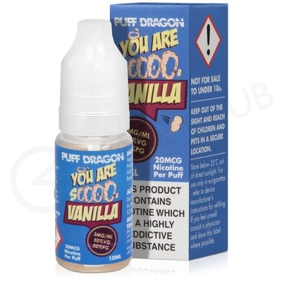 French Vanilla E-Liquid by Puff Dragon