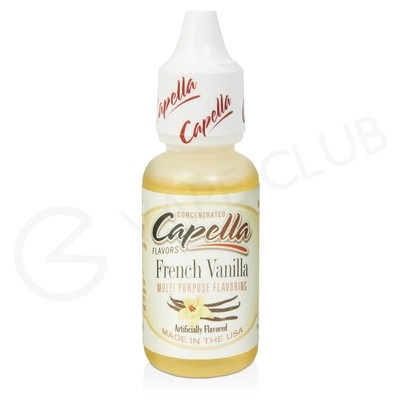 French Vanilla V2 Flavour Concentrate by Capella