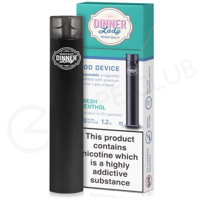 Fresh Menthol Dinner Lady Disposable Device