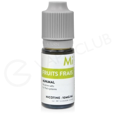 Frosted Punch / Fruits Frias Nic Salt E-Liquid by Minimal