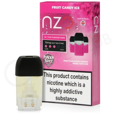 Fruit Candy Ice Prefilled Pod by NZO
