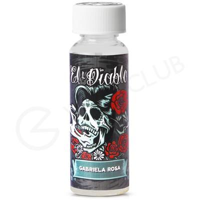 Gabriela Rosa High VG Shortfill E-Liquid By El Diablo 50ml