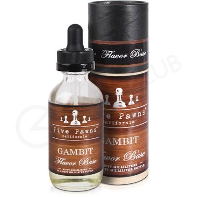 Gambit Flavour Base Shortfill E-Liquid by Five Pawns 50ml