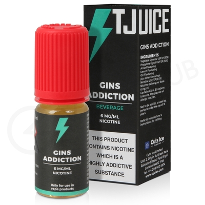 Gins Addiction E-Liquid by T-Juice