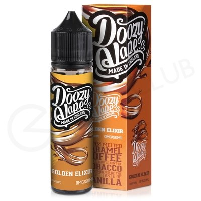 Golden Elixir eLiquid by Doozy Vape Co. 50ml