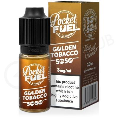 Golden Tobacco E-Liquid by Pocket Fuel 50/50