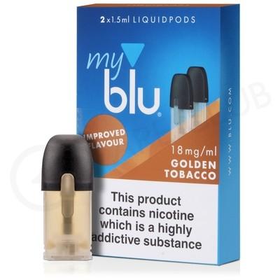 Golden Tobacco E-Liquid Pod by MyBlu