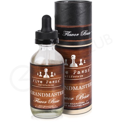 Grandmaster Flavour Base eLiquid by Five Pawns 50ml