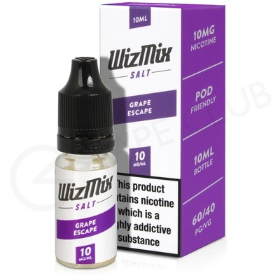 Grape Escape Nic Salt E-liquid by Wizmix