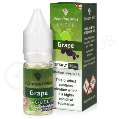 Grape Nic Salt E-Liquid by Diamond Mist