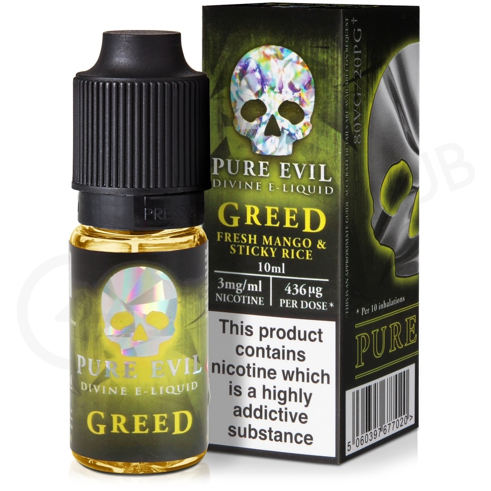 Greed eLiquid by Pure Evil