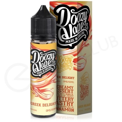 Greek Delight eLiquid by Doozy Vape Co. 50ml