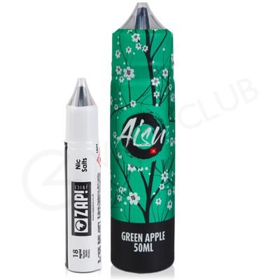 Green Apple Shortfill E-liquid by Zap! Juice Aisu Series 50ml