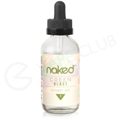 Green Blast eLiquid by Naked 100 50ml