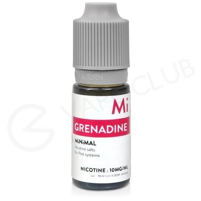 Grenadine Nic Salt E-Liquid by Minimal
